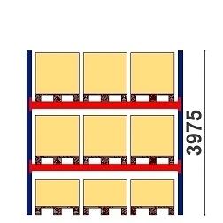 Kuormalavahylly H=3975 BASIC