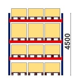Kuormalavahylly H=4500 BASIC