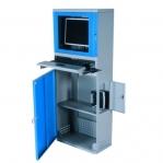 Tietokonekaappi litteälle näytölle 1630x300x500 mm