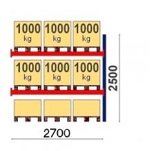 Lavahylly jatko-osa 2500x2700 1000kg/lava, 9 EUR lavapaikkaa OPTIMA