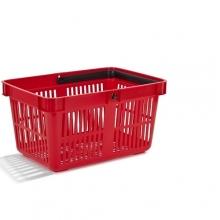 Ostoskori punainen