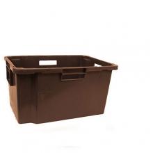 Muovilaatikko 600x400x300mm, ruskea