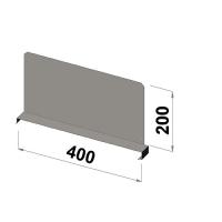 Välijakaja 400x200 mm