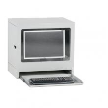 Tietokonekaappi 595x450x640 mm harmaa