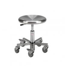 Pyöräjakkara Inox 350, korkeus 370-500 mm