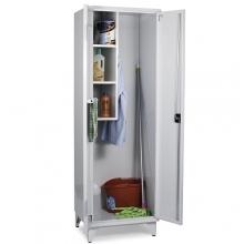 Siivouskaappi 2:lla ovella 1900x600x545 RAL 7035