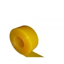 Muovilamelliverho läpinäkyvä keltainen 2x200mm/metri