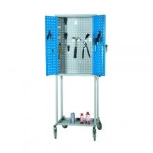 Työkaluvaunu 600x400x1800 reikälevykaapilla