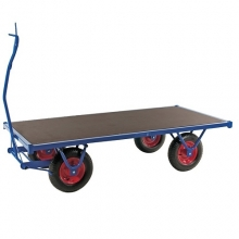 Vahvatekoinen HD-vaunu 3000 x 1000 x 490/800 kg
