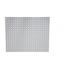 Reikälevy 750x600 mm harmaa seinään kiinnitettävä