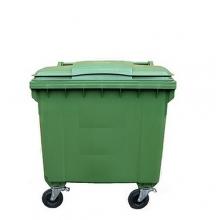 Jätesäiliö 1100L vihreä
