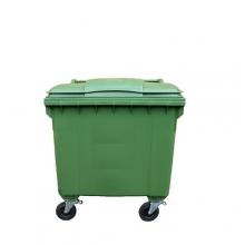 Jätesäiliö 660L vihreä