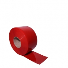 Muovilamelliverho punainen 2x200mm/metri
