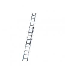 Kaksiosaiset jatkotikkaat Prof 5,19m, 2x9 askelmaa