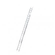 Kaksiosaiset jatkotikkaat Prof 9,51m, 2x18 askelmaa