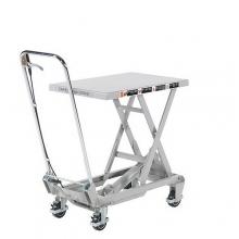 Nostovaunu alumiini 450x700 100 kg veivikäyttöinen