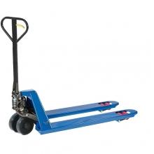Haarukkavaunu 1150x540/2500 kg PU pyörät, telipyörät edessä, sininen